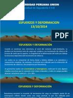 7. Esfuerzo Deformacion 13-10-2014