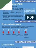 Variables Macroeconómicas EL PIB