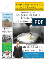 Le Soir d'Algérie 29112014