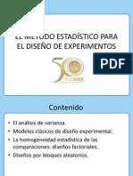 Metodo Estadistico Para El Diseño de Experimentos