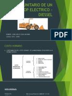 Costo Unitario de Un Scoop Electrico - Diessel