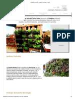 Jardines Verticales Bogotá y Colombia - Vertín