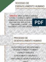 PROCESSO DE DESENVOLVIMENTO HUMANO