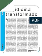 Um Idioma Transformado