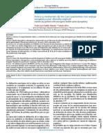 Comportamiento Clínico y Evolución de Los (as) Pacientes Con Vejiga Neurogénica Por Disrafia Espinal