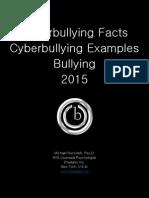 Cyberbullying Tactics 2015