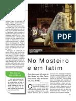 No Mosteiro e Em Latim