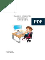 proyecto informatica en el ciclo primaria