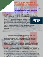Chile Solo Para Peruanos