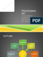 POLYMER PROCESSING AIDS