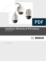 AutoDome 700 Series IP PTZ Camera - Guía Del Usuario