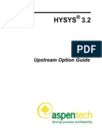 HYSYS Upstream Guide