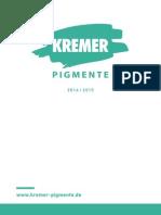 Kremer Katalog de 2014-2015