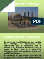 Purificación de Biogás