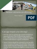 senior citizens on driving