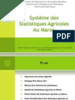 10.Maroc Présentation Statistiques Agricoles