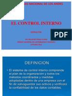 Exposicion Control Interno Univ Los Andes
