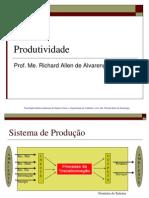 Aula 3 - Produtividade