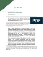 9. TEXTOS II Osorio (2002) Enfoques Sobre La Tecnología