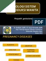 Pathology of Gestational Diseases