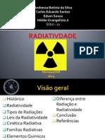 APRESENTAÇÃO RADIATIVIDADE
