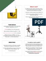 tuba basics