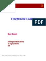 Stocastic FE