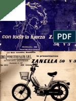 Zanella 50 V3 Manual