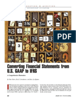 Converting Financial Statements GAAP IFRS Jan2014 CPAJ