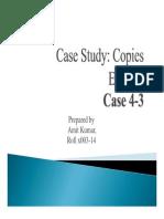 Case Study 4 3 Copies Express
