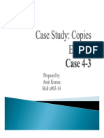 Case Study 4 3 Copies Express