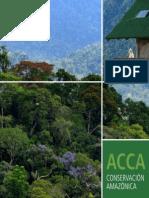 Conservación Amazónica Brochure