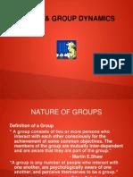Group & Group Dynamics