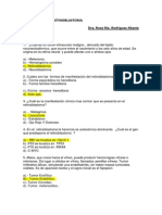 Cuestionario Retinoblastoma