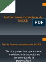 Test Sacks Nuevo