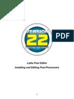 Bobcad-cam Lathe Posts Editing for v22