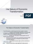 The Nature of Economic Transformation