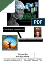 EL PROCESO CONCIENTE Y NO CONCIENTE EN EL CONTEXTO SOCIAL- cLASE N° 03