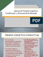 Terapia Cognitiva Conductual adicciones