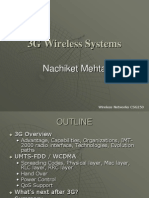 3G WIRELESS SYSTEM