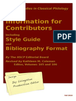 Hs Cp Style Guide 2011