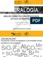 Análisis Químicos Cualitativos de Minerales.ppt