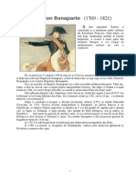Referat Napoleon Bonaparte Istorie