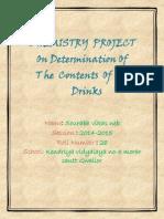 Chemistry Investigatory Project 12
