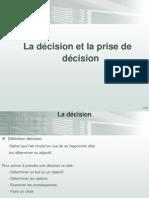 Lecon 1 THD Décision Prise de Décision