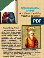 Sf Apostol Andrei, ocrotitorul romanilor.ppt