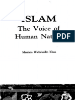 Islam The Voice of Human Nature