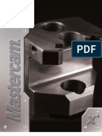 Professional Courseware Mastercam X Mill Level 1