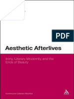 Continuum - Aesthetic Afterlives - Irony, Literary Modernity and the Ends of Beauty