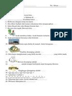 Soal PKN New Kelas 1